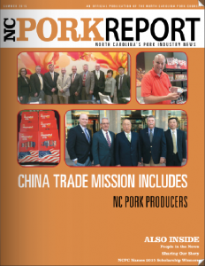 NC Pork Report - Summer 2015