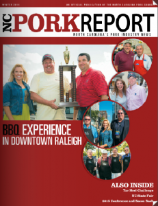 NC Pork Report - Winter 2014